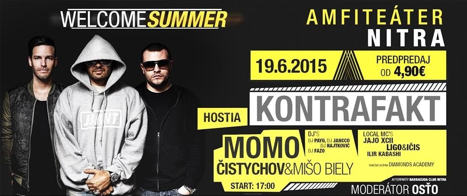 picture Welcome Summer Nitra