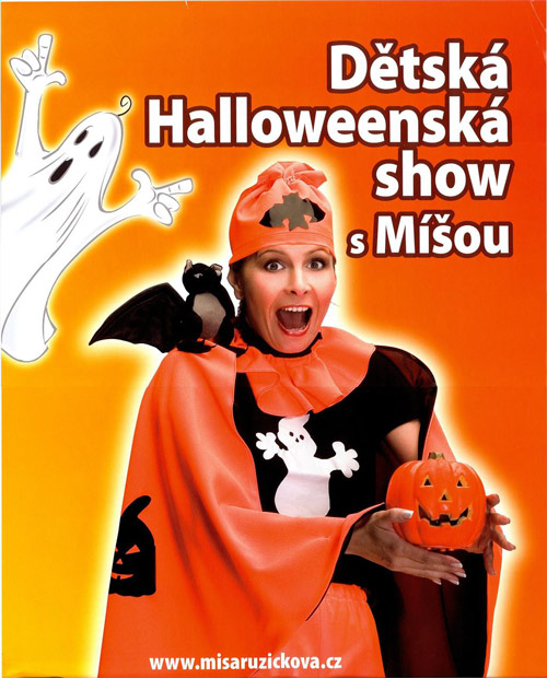 picture Detská halloweenská show s Míšou