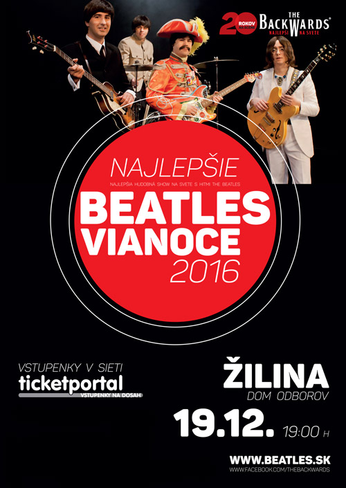 picture NAJLEPŠIE BEATLES VIANOCE 2016 – THE BACKWARDS