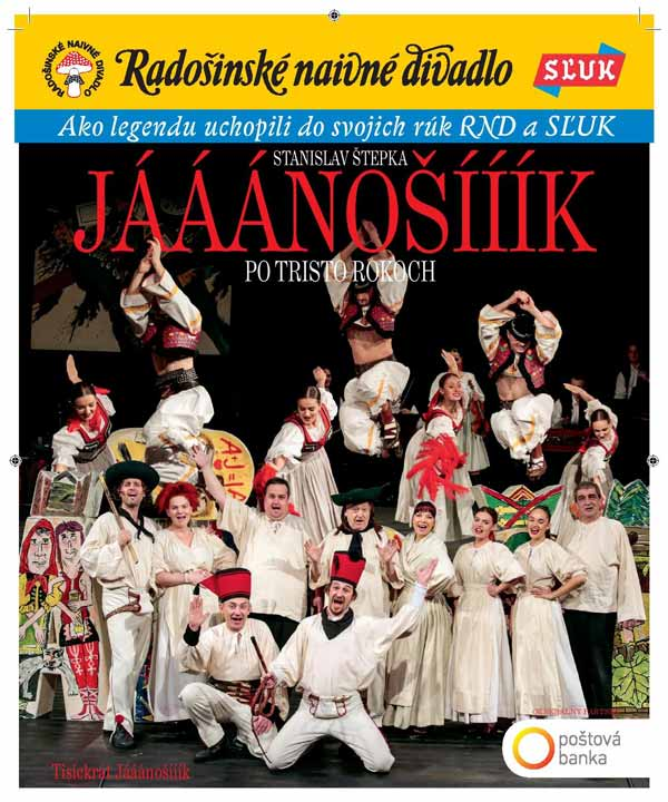 picture Jááánošííík po tristo rokoch so SĽUK-om