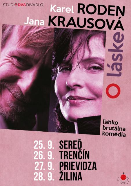 picture Karel Roden & Jana Krausová - O láske