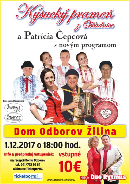 picture Koncert Kysucký prameň ahosť Duo Rytmus