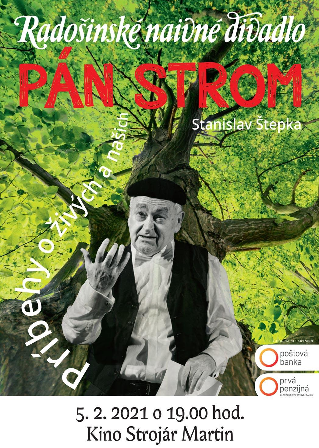 picture Pán Strom   -  Radošinské naivné divadlo