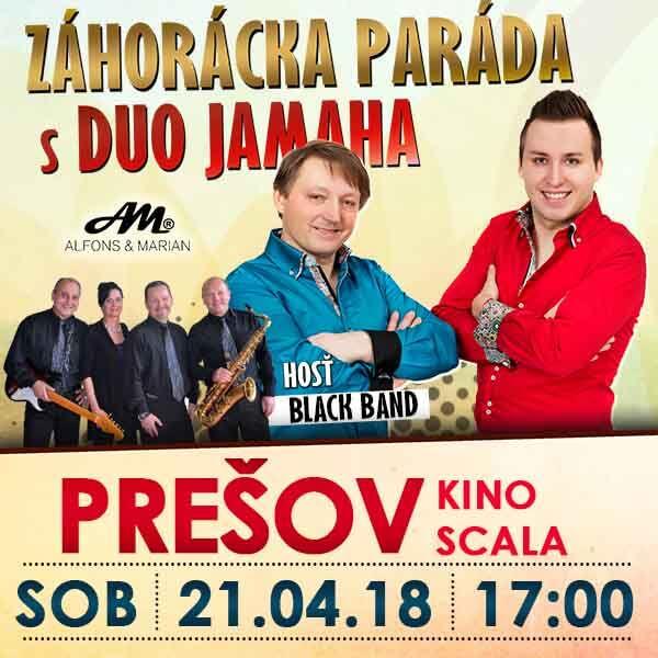 picture Záhorácka Paráda s Duo Jamaha a hosťom Black Band