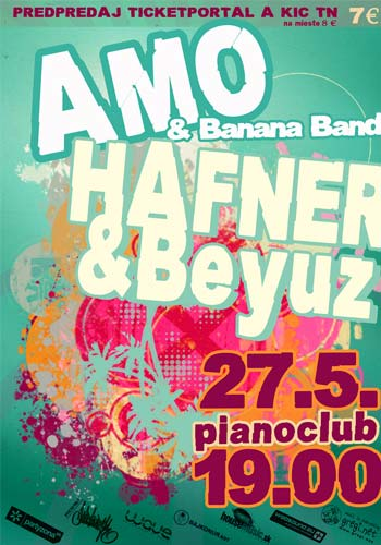picture AMO and Banana band a Hafner a Beyuz