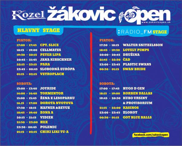 picture Kozel Žákovic Open 2012