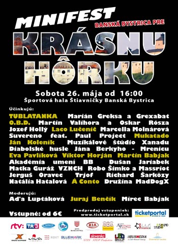 picture Minifest Banská Bystrica pre Krásnu hôrku
