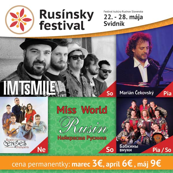 picture Rusínsky festival