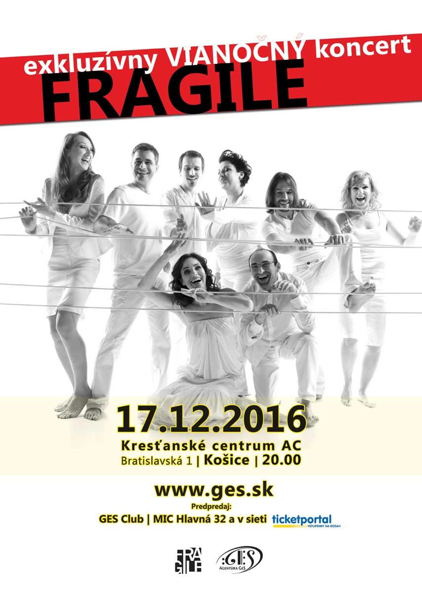 picture FRAGILE - exkluzívny vianočný koncert
