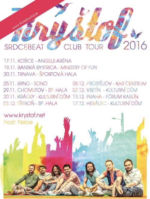 picture KRYŠTOF Srdcebeat SK Club Tour 2016