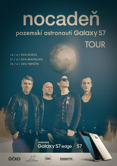 picture NOCADEŇ - POZEMSKÍ ASTRONAUTI GALAXY S7 TOUR
