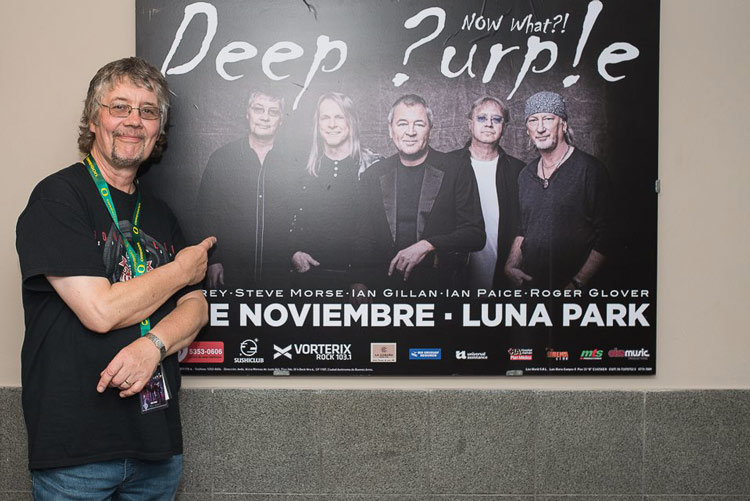 picture Don Airey (Deep Purple) a friends