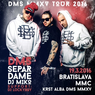 picture DMS MMXV TOUR 2016