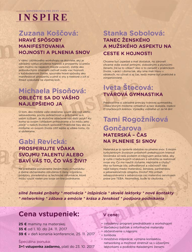 picture Konferencia pre ženy INSPIRE