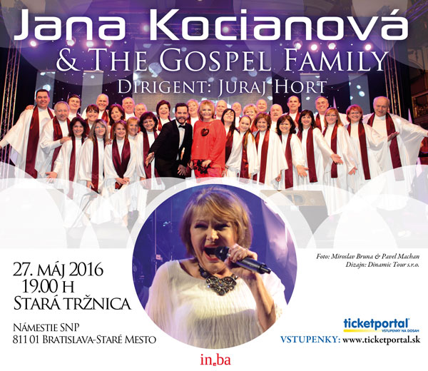picture JANA KOCIANOVÁ & THE GOSPEL FAMILY