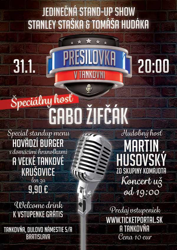 picture Stand-up comedy PRESILOVKA