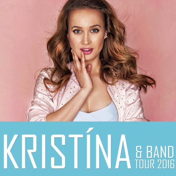 picture KRISTÍNA & BAND TOUR 2016
