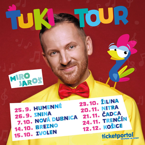 picture MIRO JAROŠ - ŤUKI TOUR