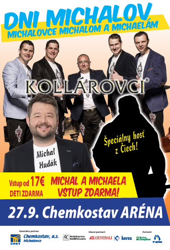 Kollárovci a Michalovce Michalom a Michaelám  4c6904cfc41