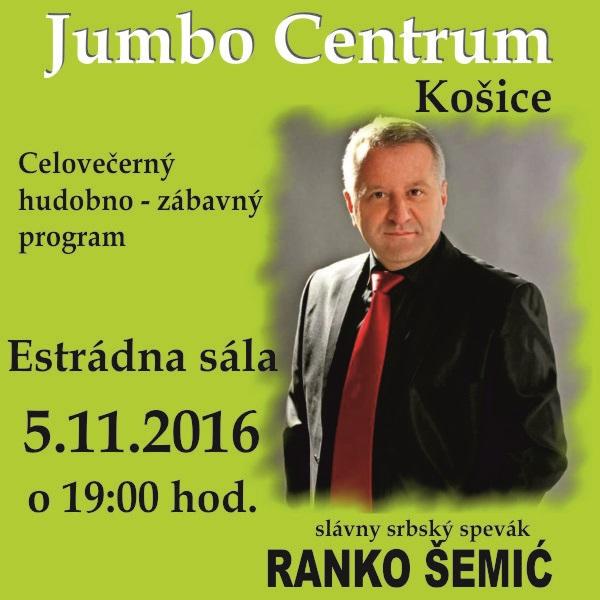 picture Celovečerný hodobno-zábavný program s Rankom Šemić