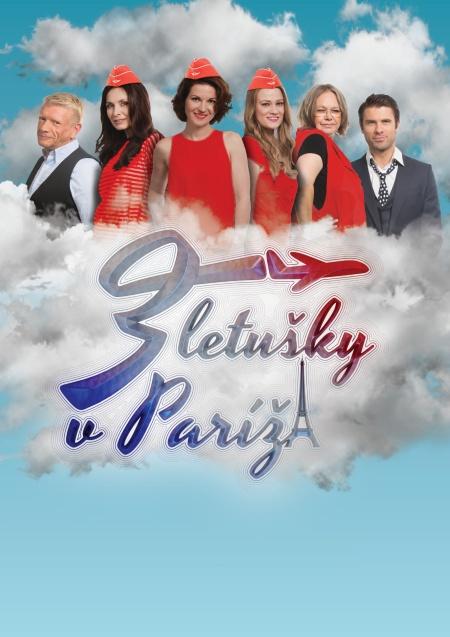 picture Tri letušky v Paríži