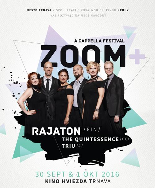picture Medzinárodný a cappella festival Zoom+ 2016