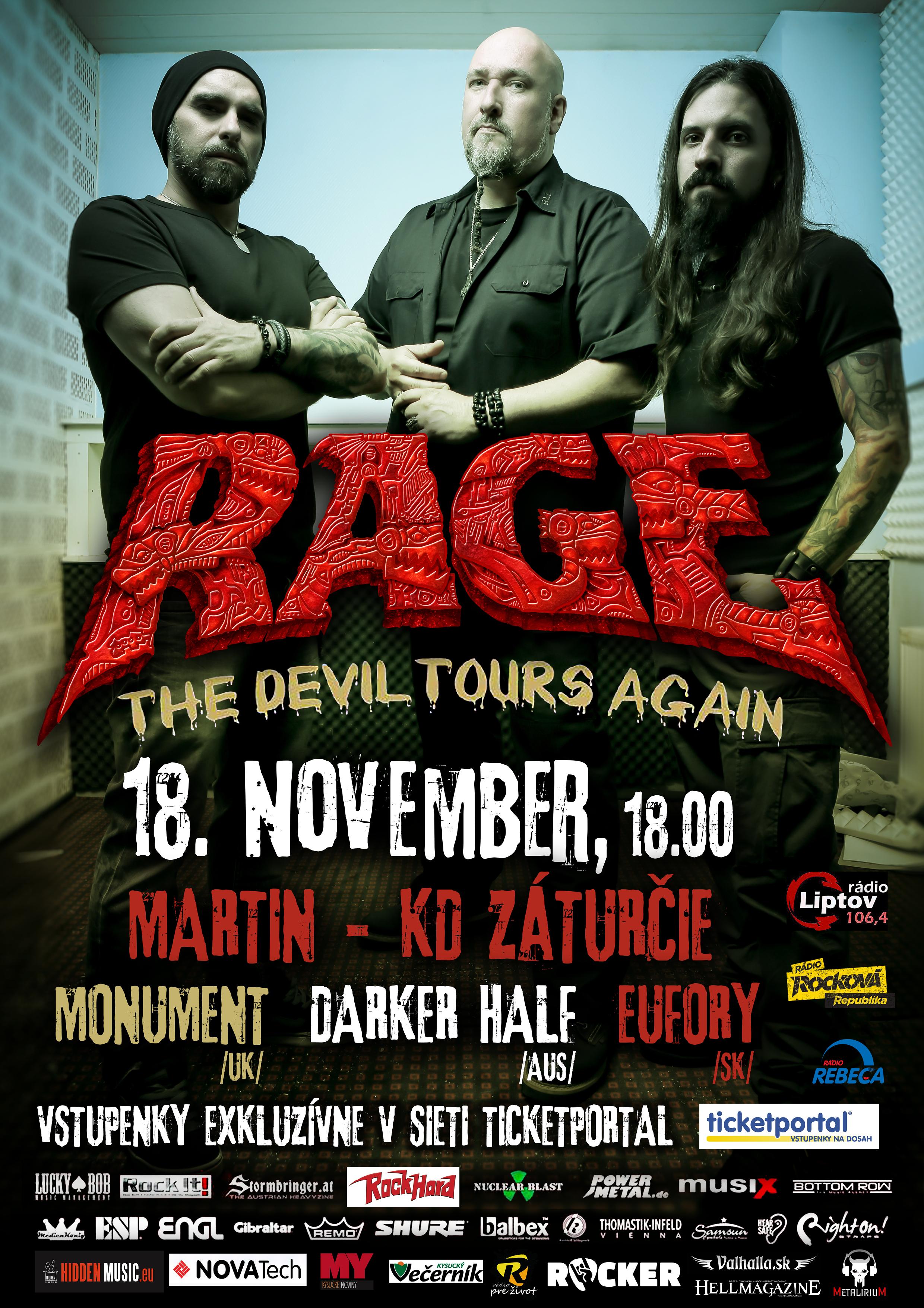picture RAGE - The Devil Tours Again