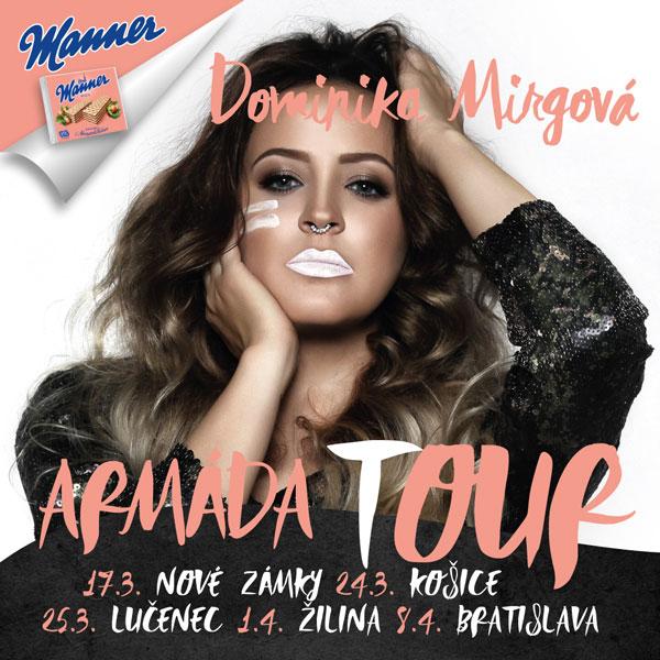 picture Dominika Mirgová - Armáda Tour