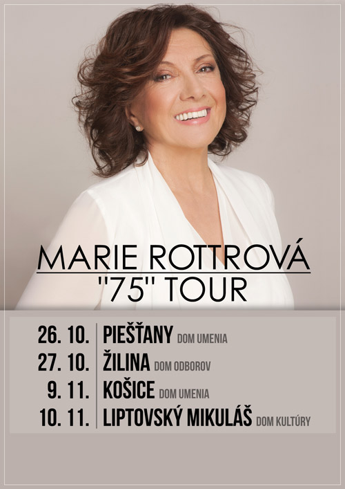 picture Marie Rottrová - 75 tour