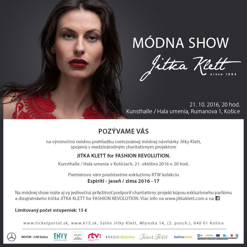 picture Módna show Jitka Klett