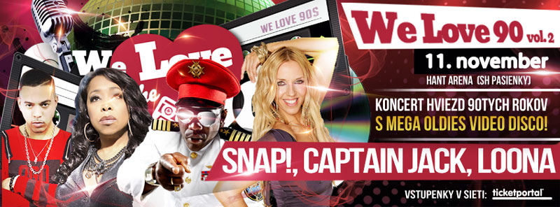 picture We Love The 90´s vol.2: SNAP!, Captain Jack, Loona