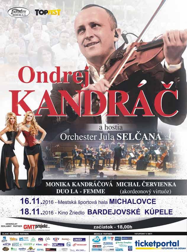 picture ONDREJ KANDRÁČ a jeho hostia