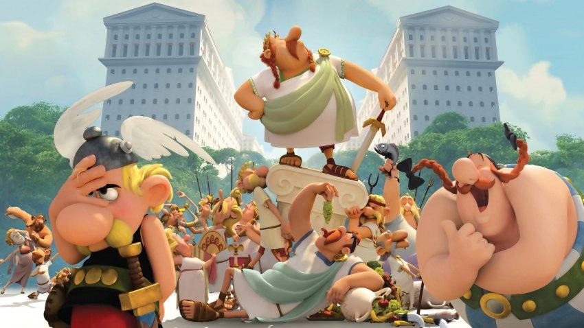 picture Asterix: Sídlo bohov - Filmový klub Kamel