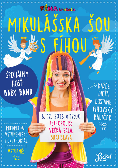 picture FÍHA tralala - Mikulášska šou s Fíhou