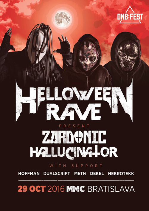 picture Helloween Rave w. Zardonic & Hallucinator