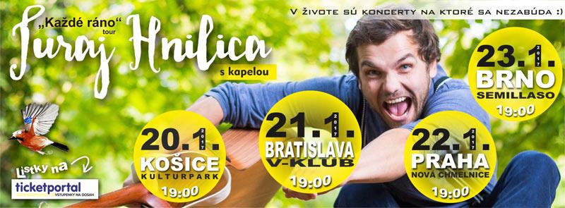 picture Juraj Hnilica & BAND - Každé ráno tour