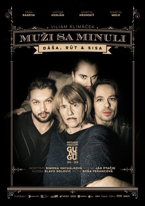 picture MUŽI SA MINULI (Dáša, Rút & Sisa)