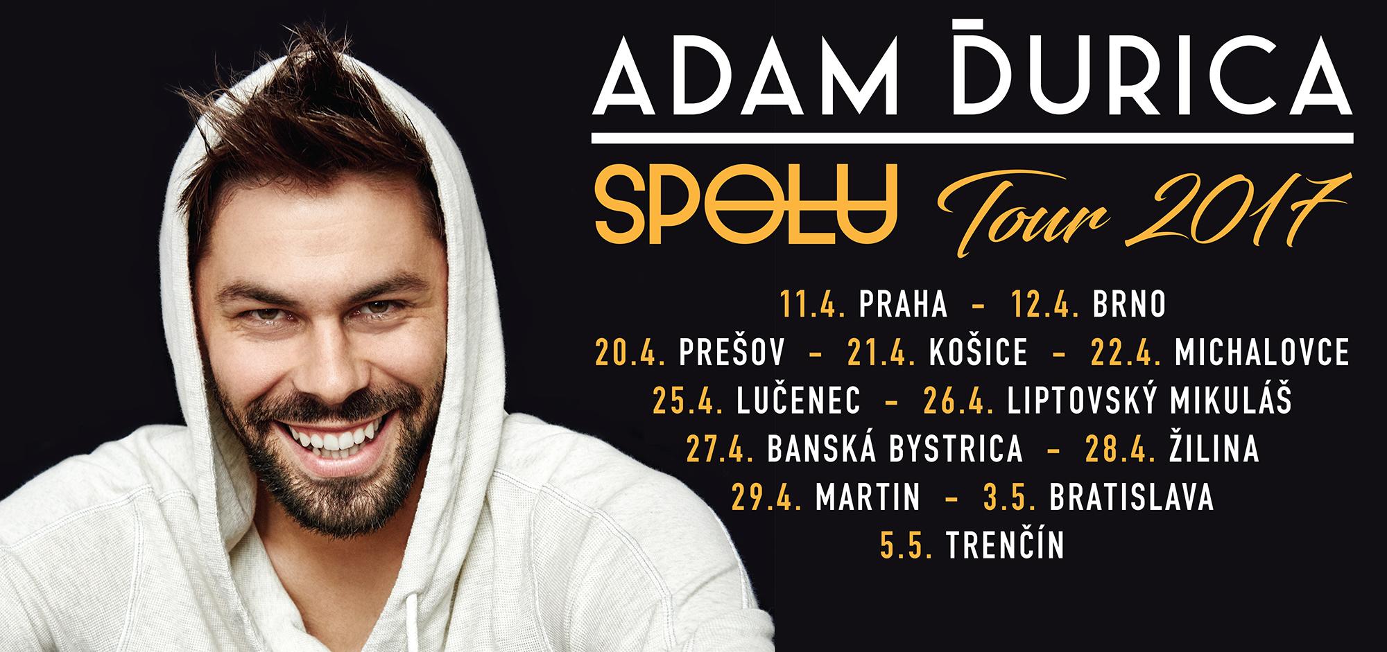 picture ADAM ĎURICA SPOLU TOUR 2017
