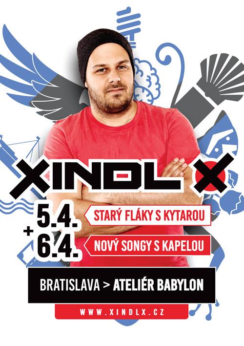 picture XINDL X – Nový songy s kapelou a starý fláky ...