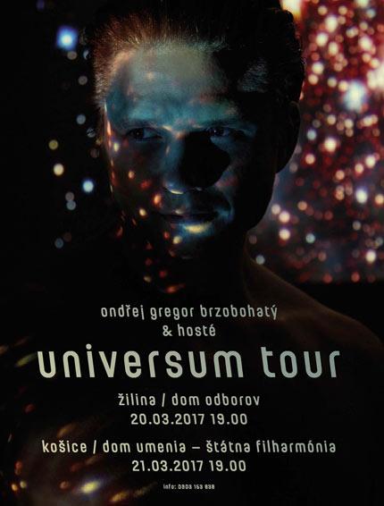 picture ONDŘEJ GREGOR BRZOBOHATÝ UNIVERSUM TOUR 2017