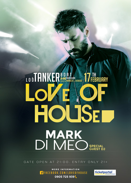 picture LoVe Of HOUSe - Special Guest Dj Mark Di Meo