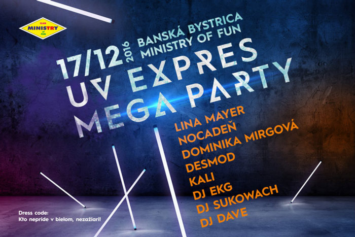 picture RADIO EXPRES MEGA UV PARTY