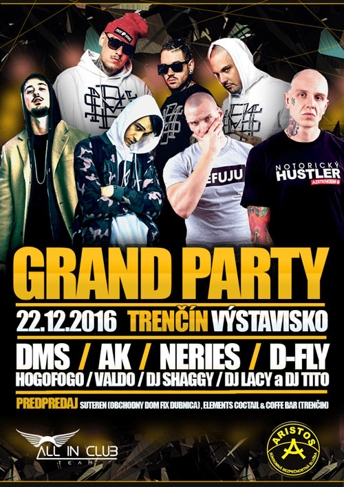 picture GRAND PARTY - DMS, NERIEŠ, AK, D-FLY