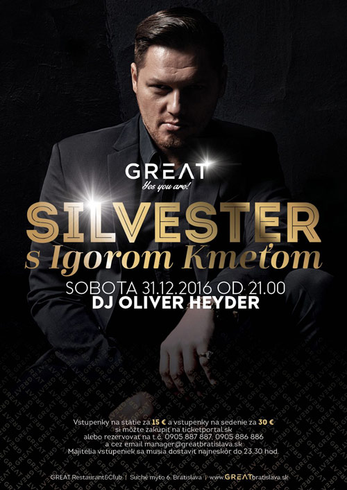 picture Silvester s Igorom Kmeťom iba v Great clube