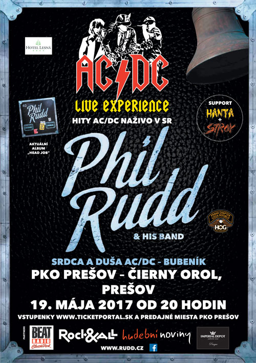 picture Phil Rudd & His Band (European Tour):bubeník AC/DC