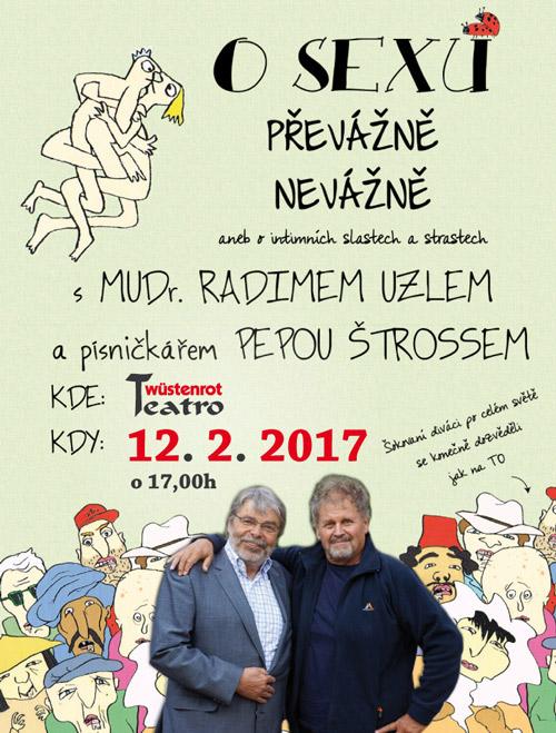 picture O SEXE PREVAŽNE NEVÁŽNE - RADIM UZEL
