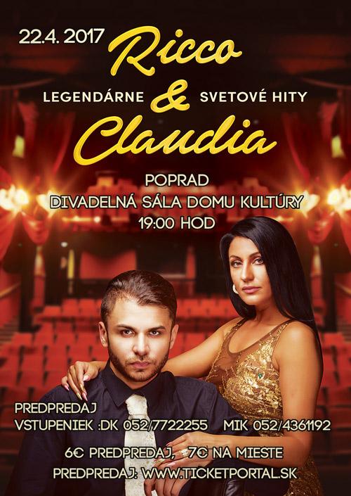 picture Ricco & Claudia - Svetové Legendárne Hity