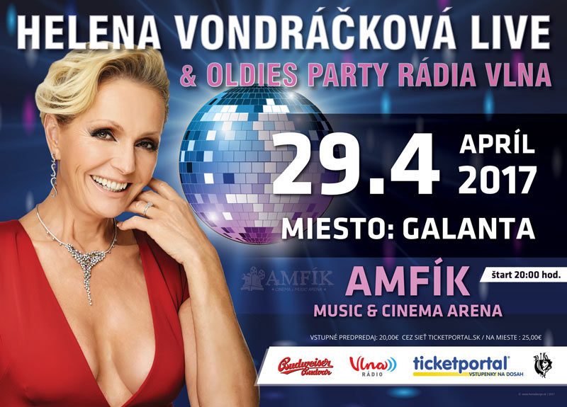 picture H. Vondráčková Live a Oldies párty s Rádiom Vlna