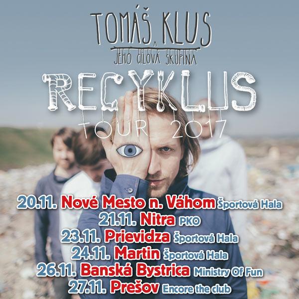 picture TOMÁŠ KLUS - RECYKLUS TOUR 2017