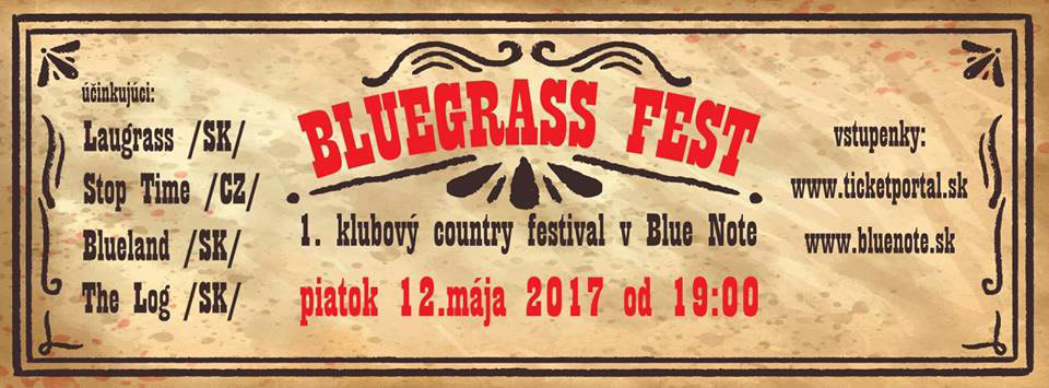 picture Bluegrass – 1.klubový country fest